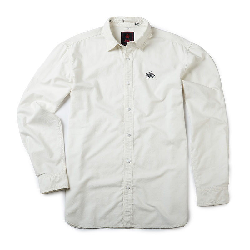 Classic Oxford Shirt Off White