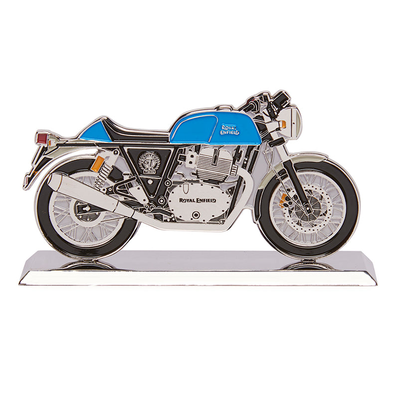 Continental Gt 650 2D Scale Model Electric Blue - Royal Enfield