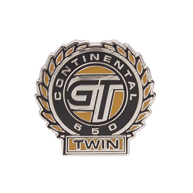 Continental Gt 650 Lapel Pin Black Yellow