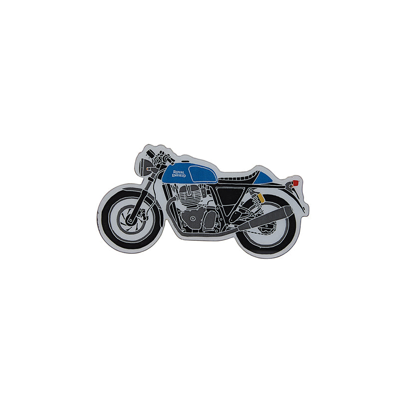 CONTINENTAL GT 650 FRIDGE MAGNET Electric Blue