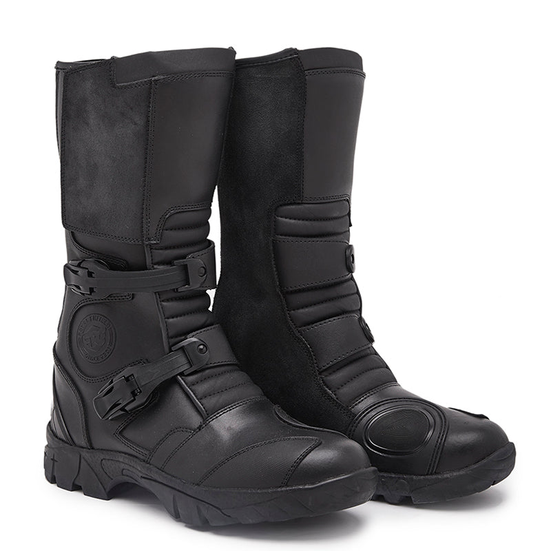 D71 Adv Boots Black - Royal Enfield