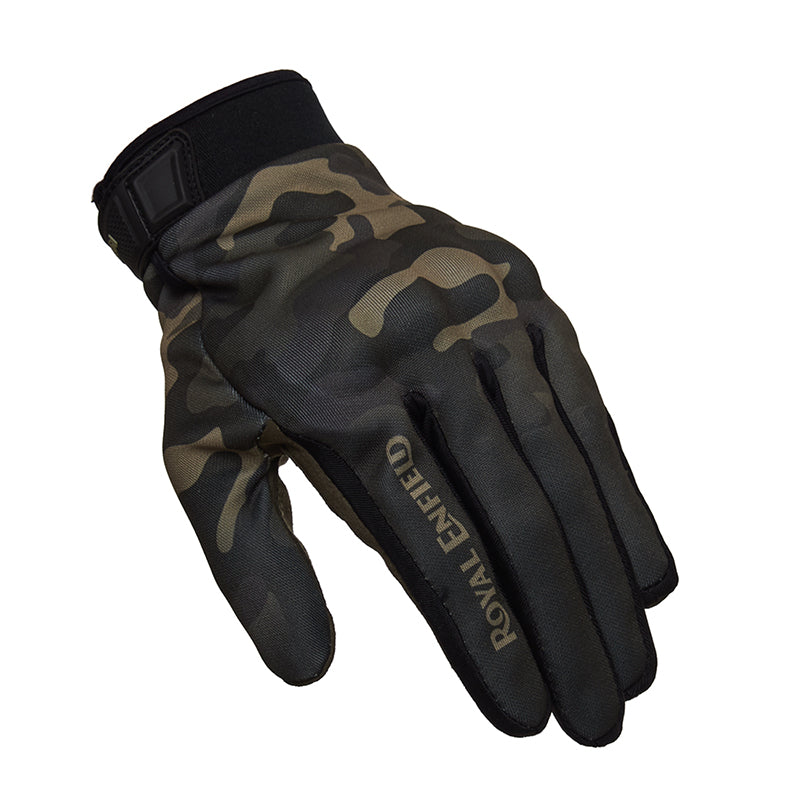 Enduro Gloves Camo Green
