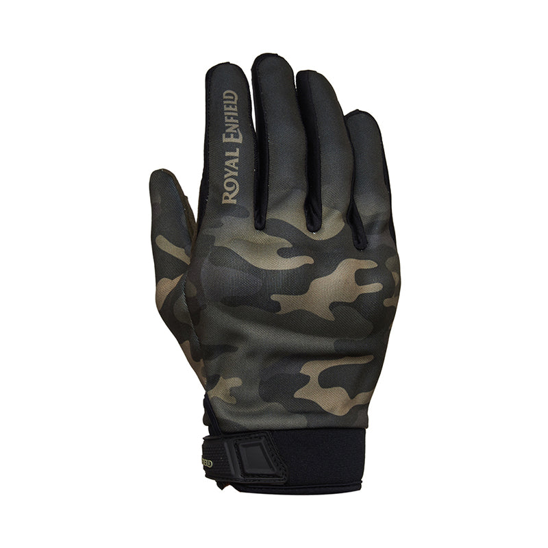 Enduro Gloves Camo Green - Royal Enfield