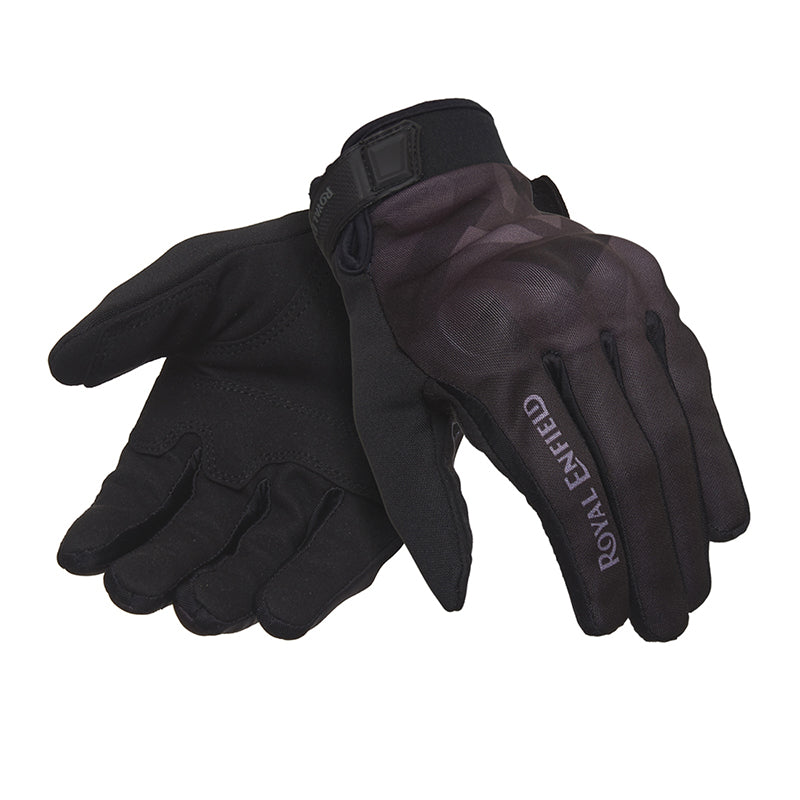Enduro Gloves Camo Grey - Royal Enfield