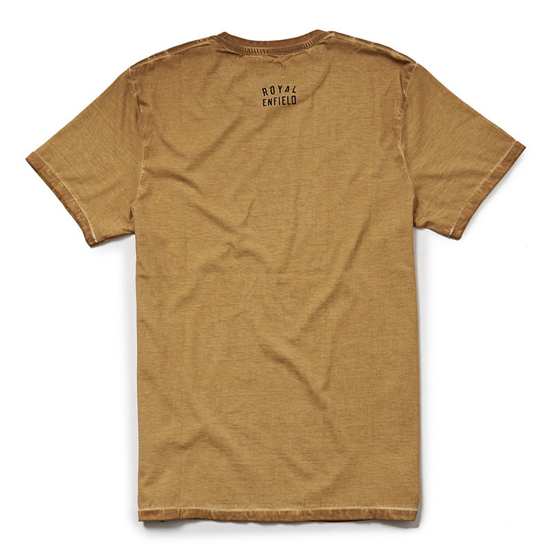 EXPLORE LEXICON T-SHIRT - Mustard Yellow