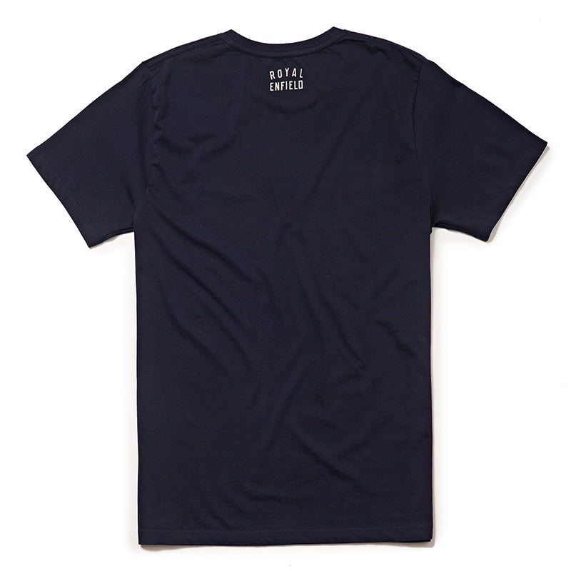 SCRAMBLE T-SHIRT - Navy Blue