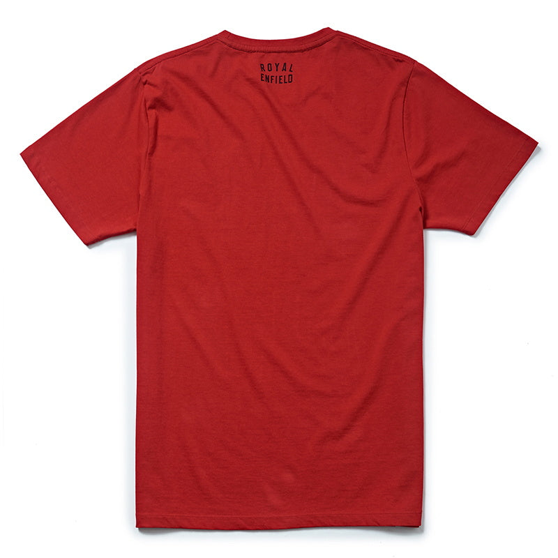 SCRAMBLE T-SHIRT - Red