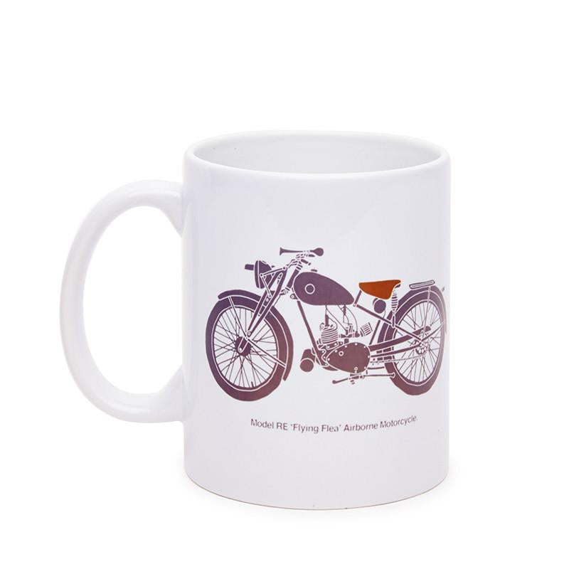 Flying Flea Coffee Mug White - Royal Enfield