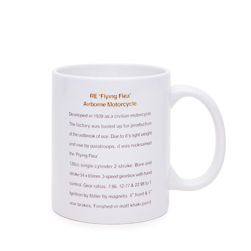 Flying Flea Coffee Mug White