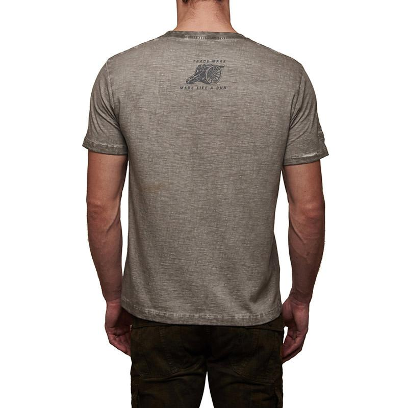 Flying Flea T-Shirt Light Grey - Royal Enfield