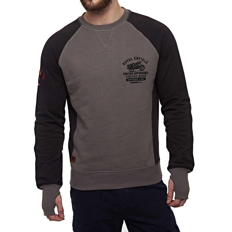 FROZEN RIDE SWEATSHIRT Grey Black