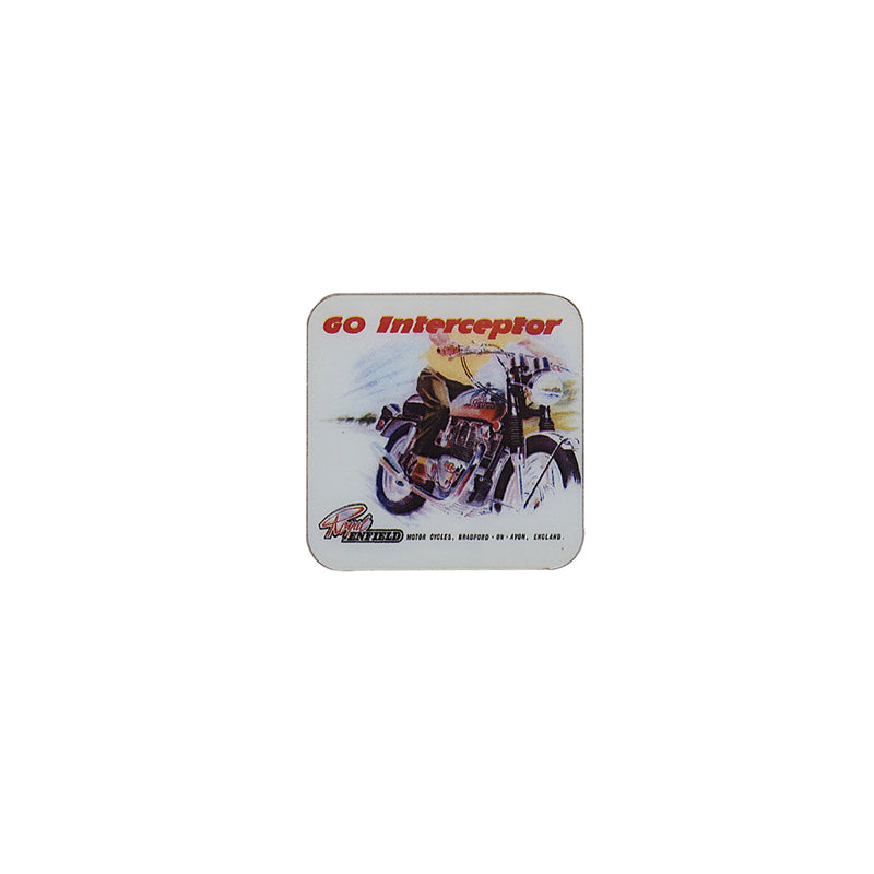 GO INTERCEPTOR FRIDGE MAGNET White