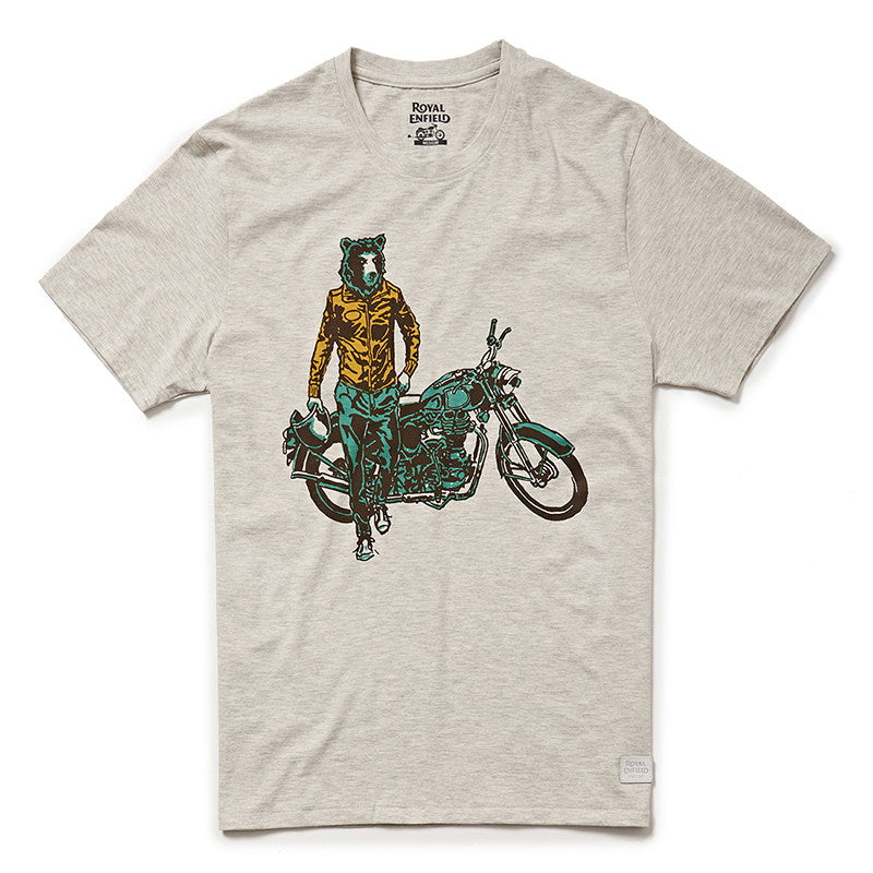 GRIZZLY T-SHIRT - Melange Grey
