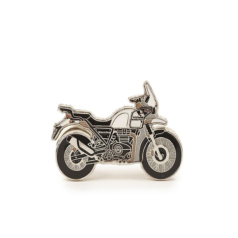 Himalayan Lapel Pin Snow White - Royal Enfield