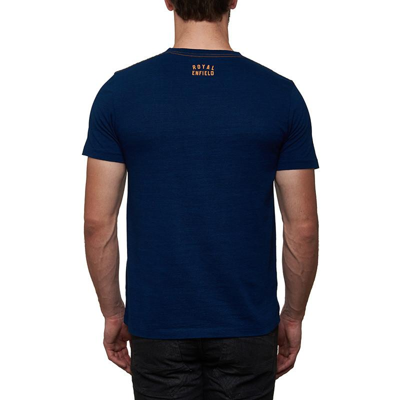 International Six Day Trial T-Shirt Indigo Blue
