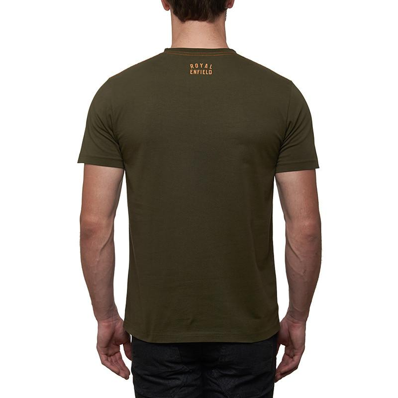 International Six Day Trial T-Shirt Olive Green