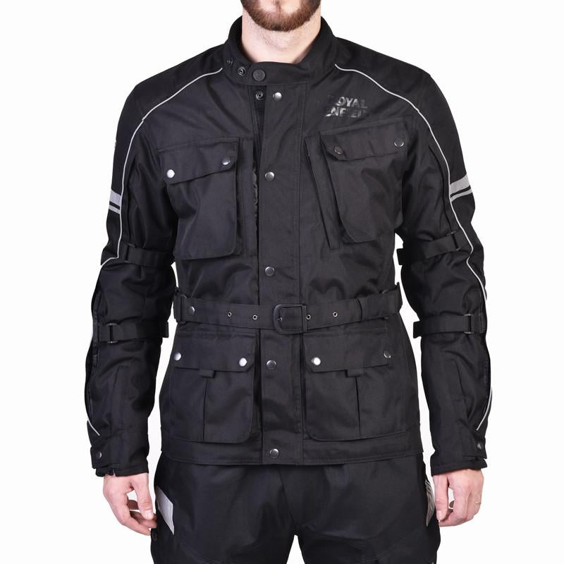Kaza Classic Adventure Touring Jacket Black - Royal Enfield