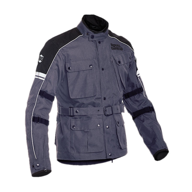 Kaza Jacket Grey - Royal Enfield