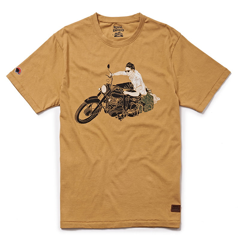LEAN T-SHIRT- Mustard Yellow