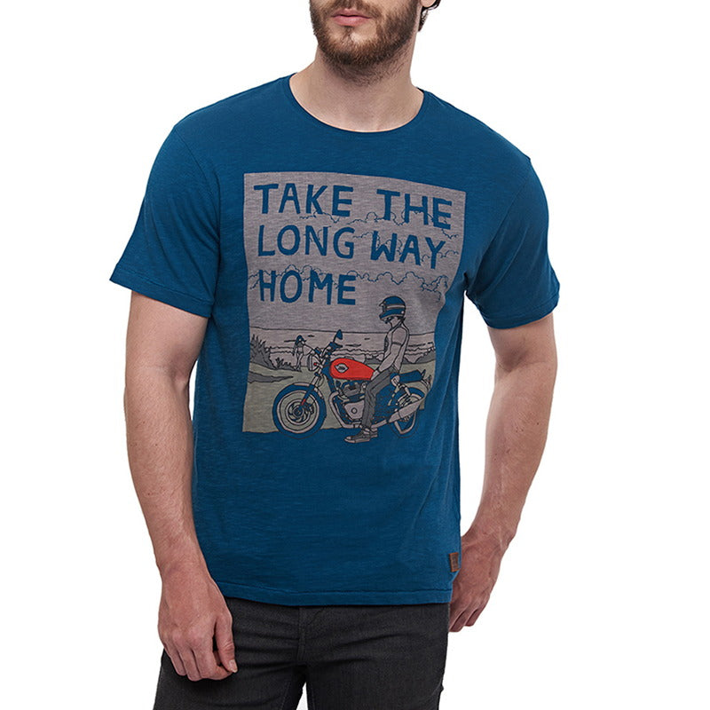LONG WAY HOME T-SHIRT - Blue