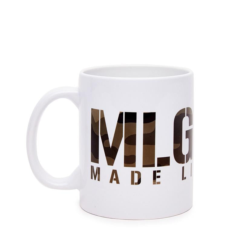 Mlg Coffee Mug Camo Green