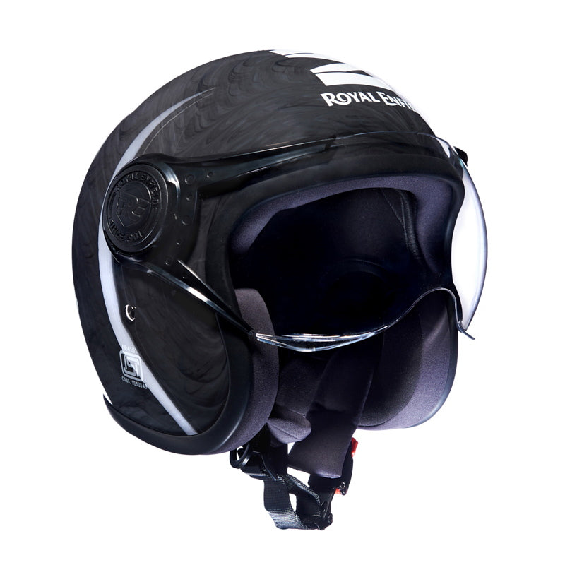 Metamorph Helmet Marble Gloss Black