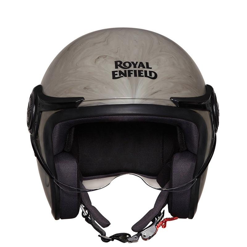 Royal Enfield Metamorph Helmet Matt Marble Grey
