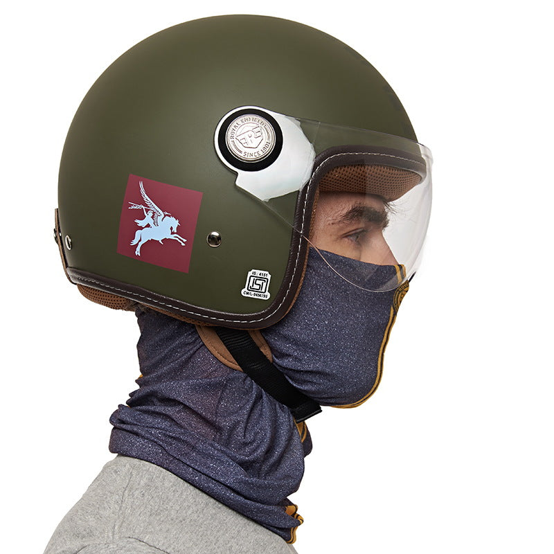 Motorcycle Parts Aop Headgear Grey