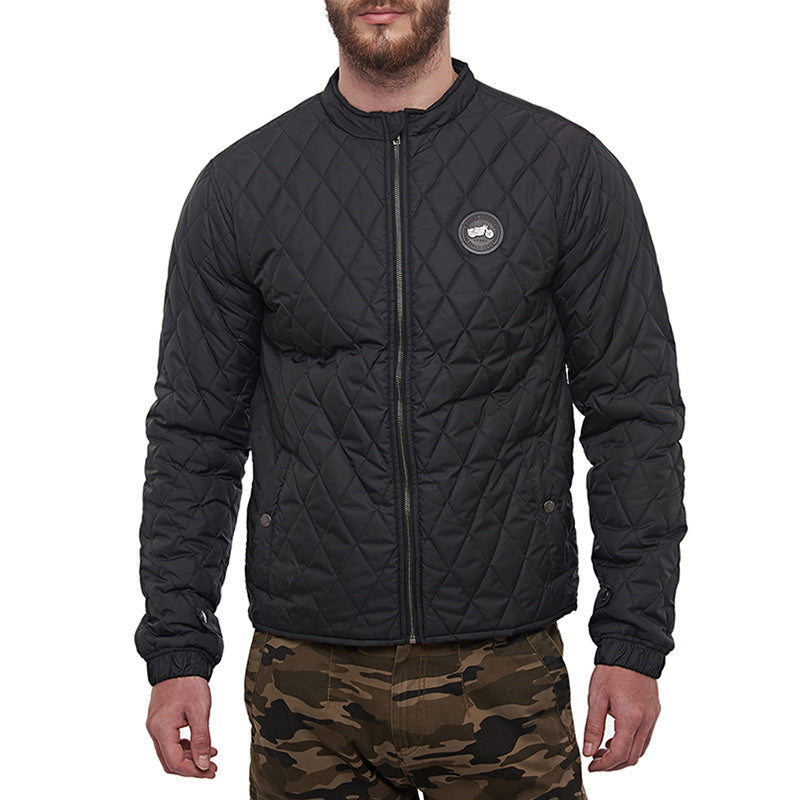 Puffer Jacket  - Charcoal