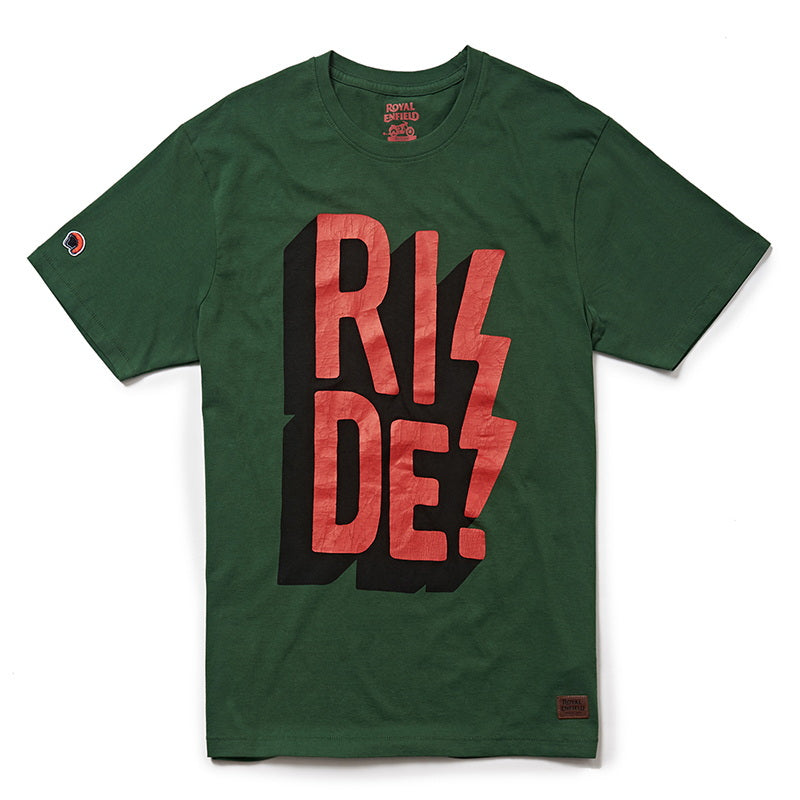 RIDE! T-SHIRT - Green