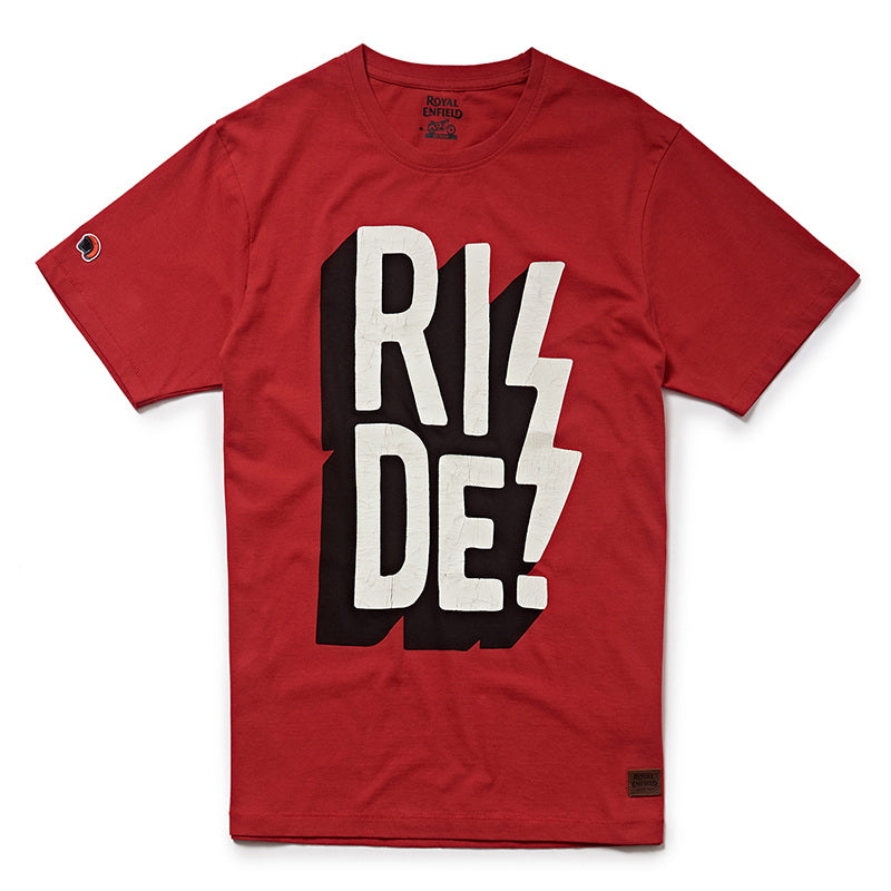 RIDE! T-SHIRT - Red