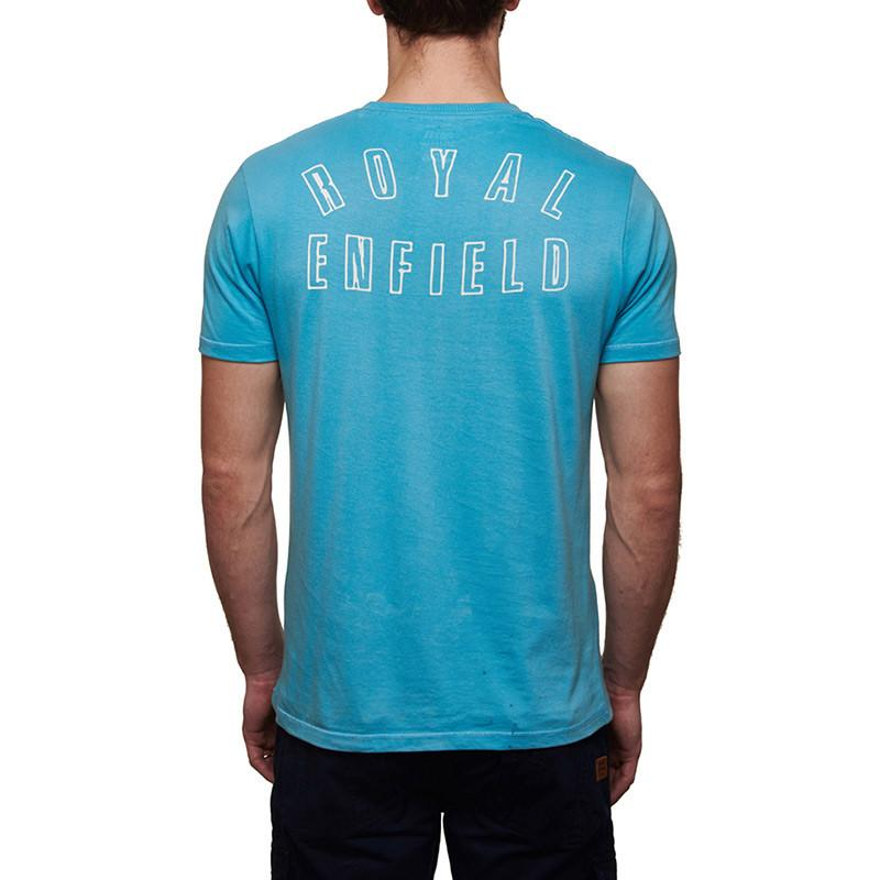 Race The Waves T-Shirt Sky Blue
