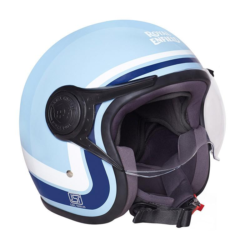 Royal Enfield Redditch Helmet Gloss Blue White