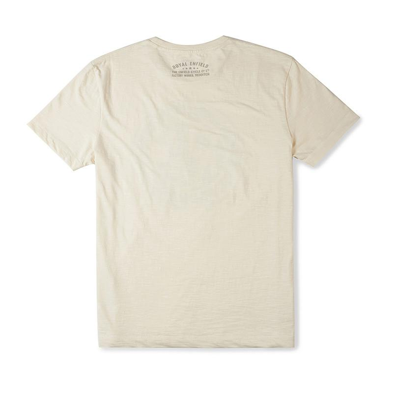 Royal Enfield Redditch Logo T-Shirt Off White
