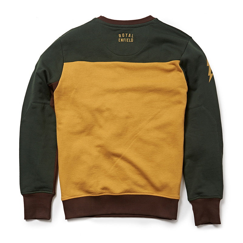RIDE MORE SWEATSHIRT Green Yellow