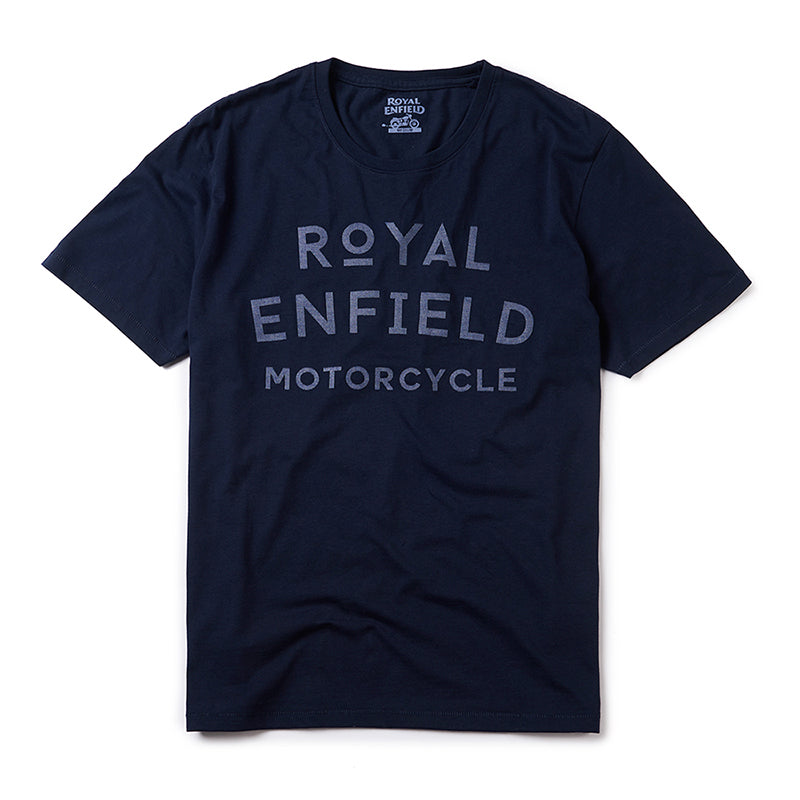 Ordinal T-Shirt Navy Blue