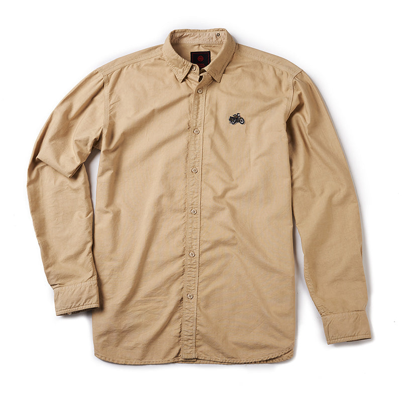 Standard Oxford Shirt Khaki Brown