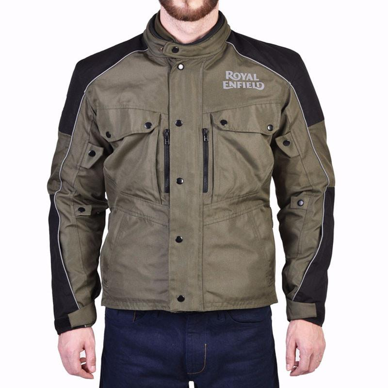 Royal Enfield Safari Jacket Olive Green