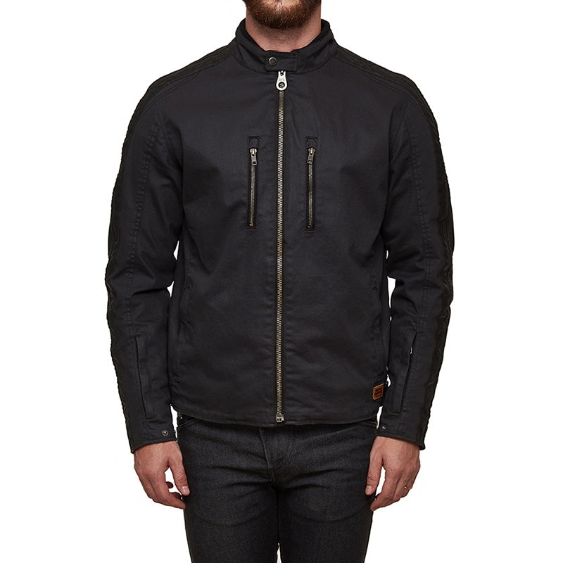 STRIPER JACKET Charcoal Black