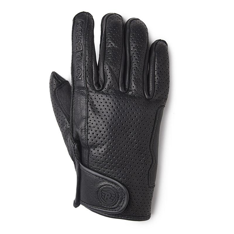 Royal Enfield Summer Gloves Black