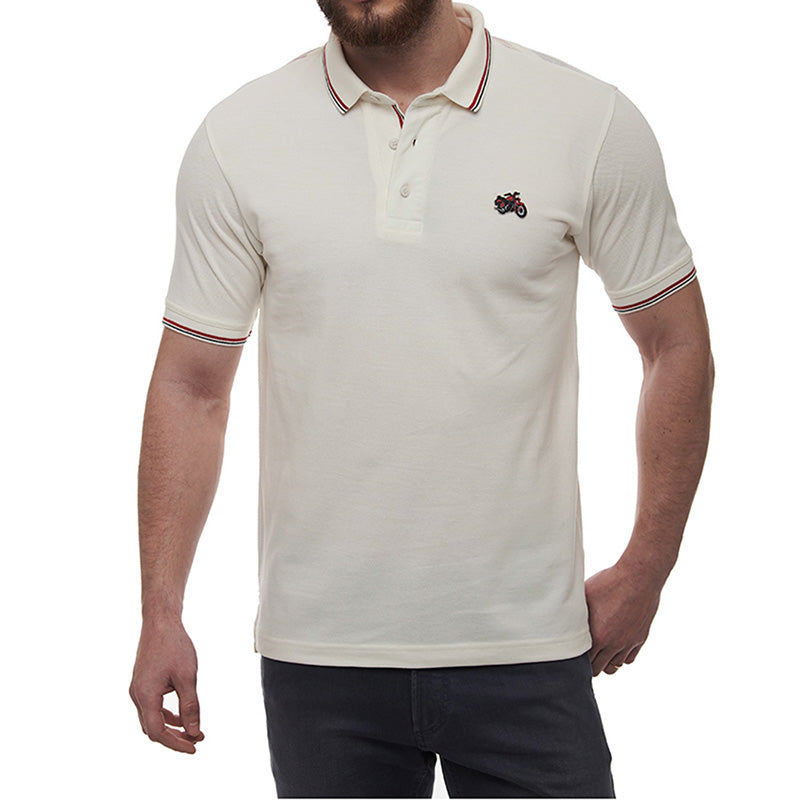 UNION YOKE POLO T-SHIRT