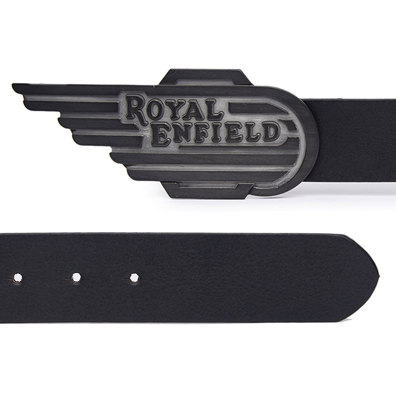 Wing Buckle Leather Belt
