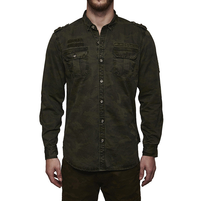 Re Camouflage Shirt Olive
