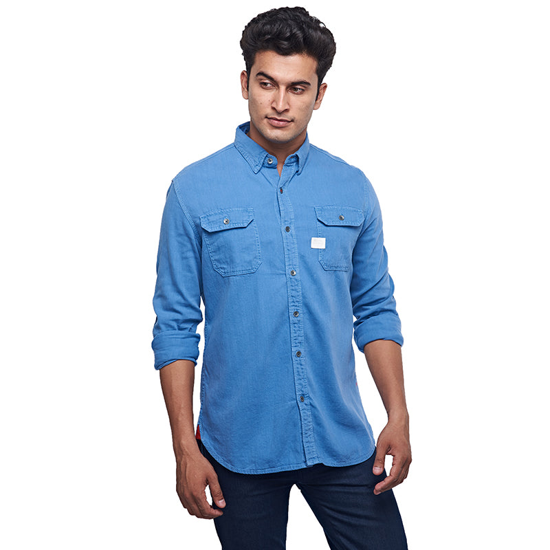 Wanderer Shirt Light Blue