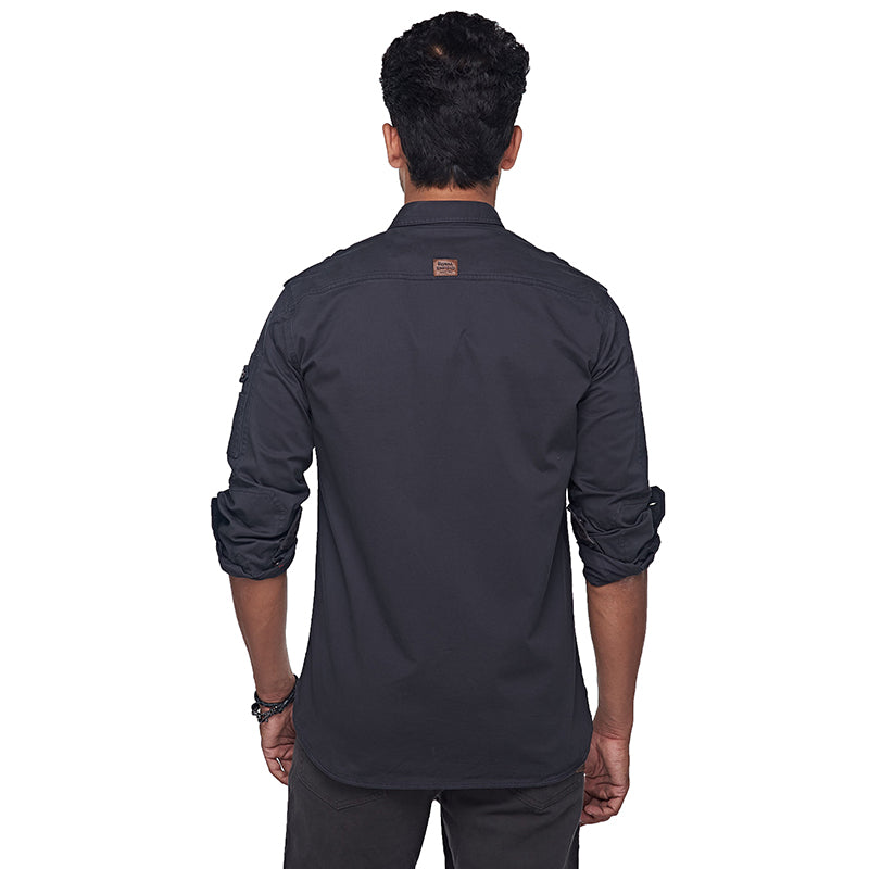 Lieutenant Shirt Charcoal