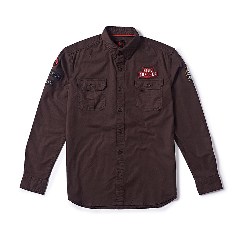 EXPLORE RE DREAM SHIRT BROWN
