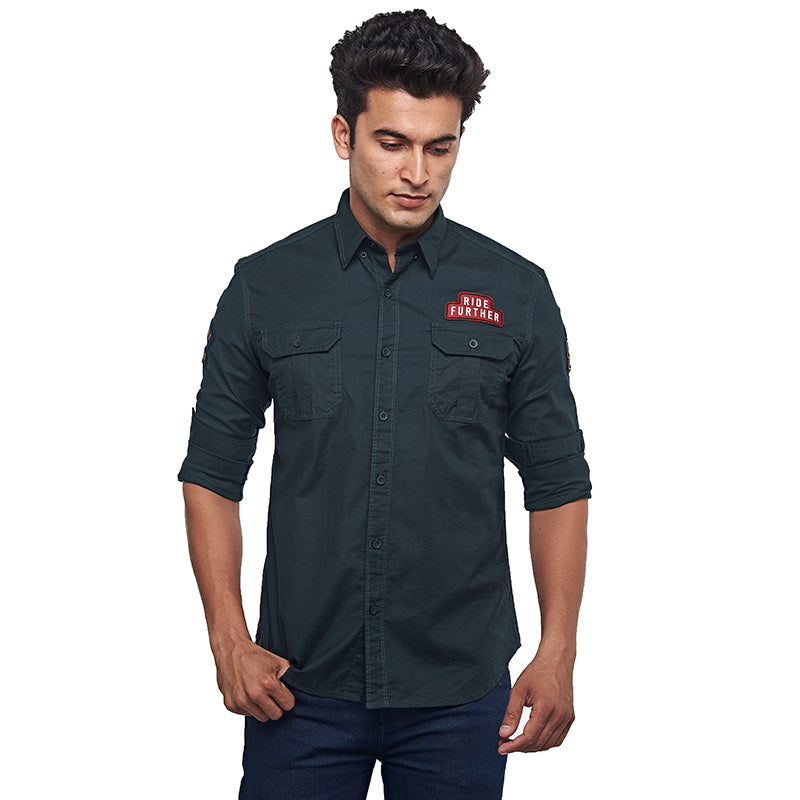 EXPLORE RE DREAM SHIRT OLIVE