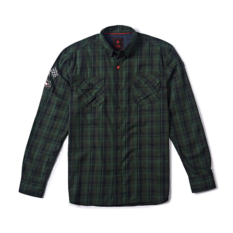 DIRT TRACK SHIRT GREEN