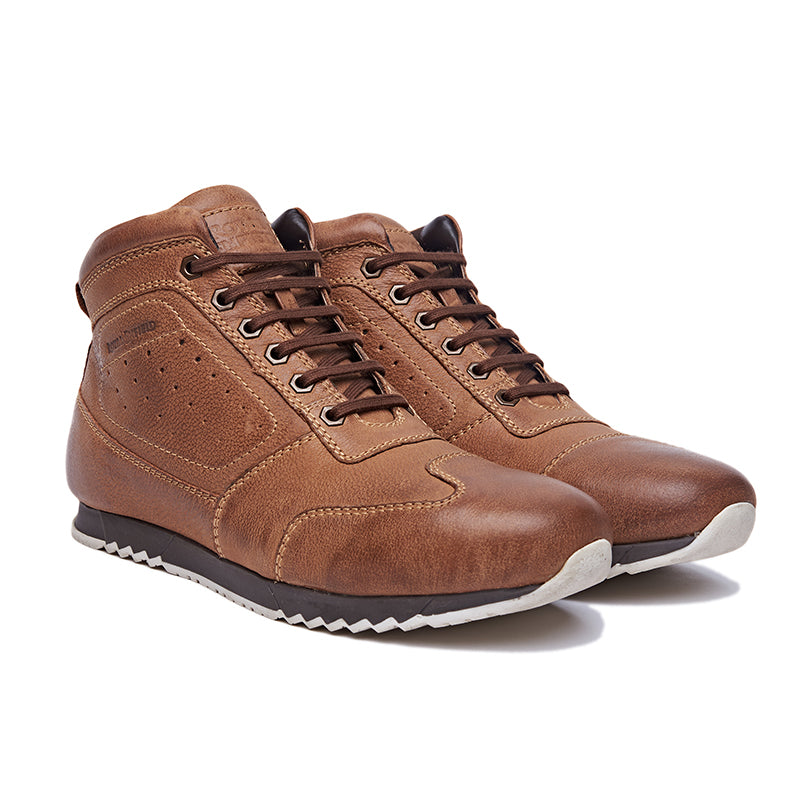 BEQUEST SNEAKERS BROWN