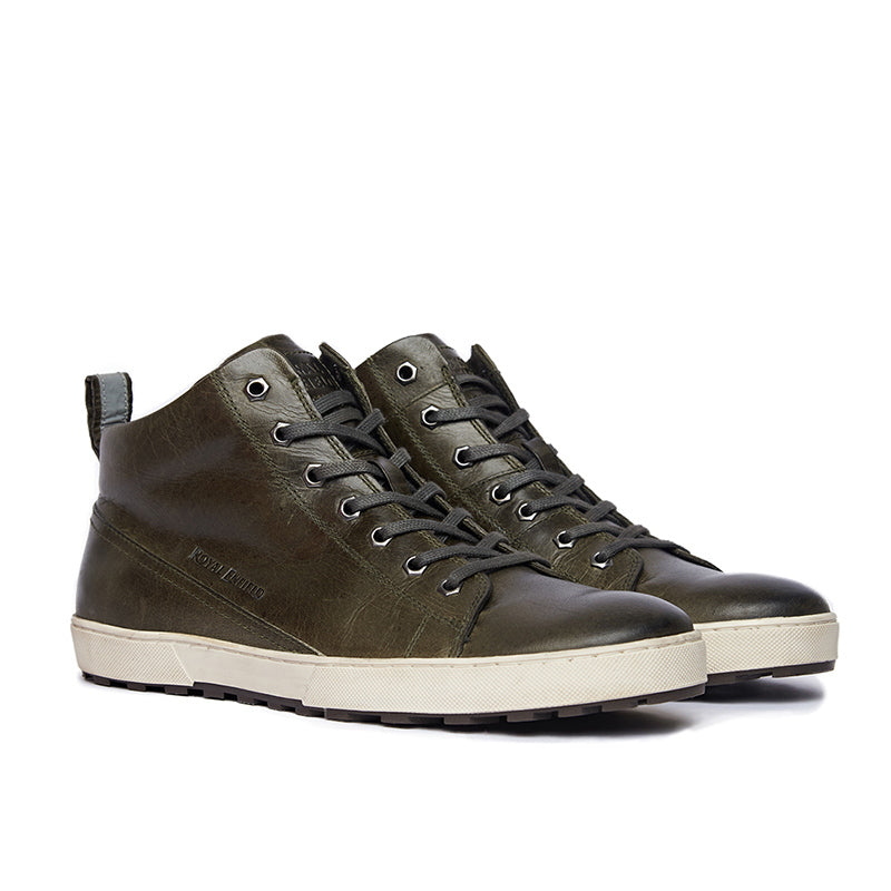 04193c42650 CADET SNEAKERS Olive Green